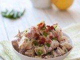 Bacon, Blue Cheese & Duck Fat Roasted Potato Salad