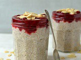 Cherry Almond Chia Pudding