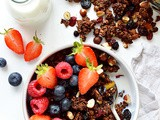 Chocolate Berry Granola