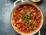 Lentil, Vegetable and Butter Bean Chilli (Vegan)