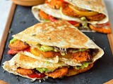Loaded Veggie Quesadillas
