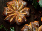 Orange & Anise Snowflake Bread