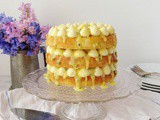 Passion Fruit, White Chocolate & Coconut Layer Cake
