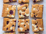 Raspberry, White Chocolate and Almond Sheet Cake (Vegan)