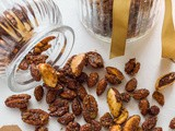 Spiced Honey Roasted Nuts