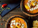 Spiced Yellow Split Pea And Sweetcorn Soup With Cheesy Arepas
