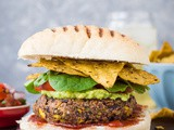 Vegan Mexican Bean Burgers