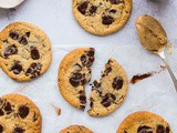 Vegan Peanut Butter Chocolate Chip Cookies