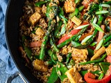 Vegetable Peanut Fried Rice