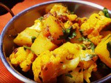 Aloo Gobi Recipe | Spiced Potatoes and Cauliflower