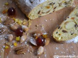 Stollen Recipe | German Dried Fruit & Nuts Bread