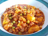 20 min 1 pot veg packed lentil, cauliflower and mango dhal