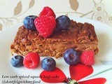 Grain free spiced squash loaf-cake