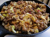 Thanksgiving Recipes: Sausage and Apple Wine Stuffing