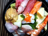 A Chirashi Sushi Lunch at Minami Saki by Astoria