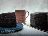 An Old-Fashioned Chocolate Cake for Dad Delivered by Holiday Inn & Suites Makati's Flavors Restaurant