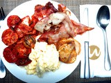 Breakfast at Widus Hotel & Casino: Bring Home The Bacon. And Kimchi
