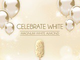 Celebrate White...with the New Magnum White Chocolate Indulgence