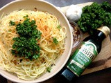 In the Kitchen with Filippo Berio: Pasta Aglio, Oglio & Peperoncino