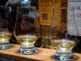 Single Malt Flights at Discovery Primea's 1824 Cigar and Whisky Bar