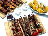 Sticks and Skewers: Eat City's Signature Sampler Cookout and New Skewer Meals