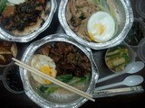 Take-Home Treats: Tasty Take-Out with Braised Beef, Mushroom and Chicken and Braised Pork Claypot Rice from Fantaste