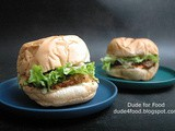 Tasty Duo: The Krunchy Chicken Burger and Cheeseburger by Aedan's Burger
