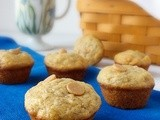 Banana Peanut Butter Chip Mini Muffins