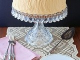 Butterscotch Chiffon Cake with Penuche Frosting