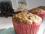 Guest Post--Oatmeal Raisin Muffins