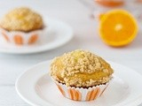 Orange Chia Seed Streusel Muffins