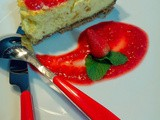 Cheesecake alle fragole (in collaborazione con Villa d'Este Home - Tivoli)