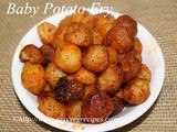 Baby Potato Fry Recipe How to make Baby Potato Fry