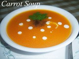 Carrot Soup Recipe How to make Carrot Soup Recipe