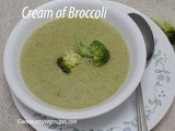 Cream of Broccoli How to make Broccoli Soup Recipe