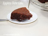 Eggless Date Cake Recipe How to make Eggless Date Cake