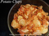 Instant Potato Chips How to make Instant Potato Chips at Home