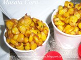 Masala Corn Sweet Corn Chat Recipe How to make Masala Corn