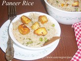 Paneer Fried Rice Recipe How to make Paneer Fried Rice