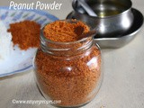 Peanut Powder Recipe How to make Peanut Powder for Rice