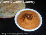 Peanut Tomato Chutney Recipe How to make Palli Tomato Chutney