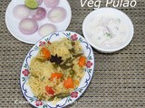 Veg Pulao Recipe How to make Vegetable Pulao Easy Veg Pulao