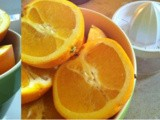 Orange juice the old way / Juices