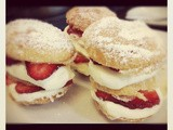 Strawberry Mille Fuille Tower / Puff pastry
