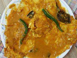 Egg Poach Curry/Rosha