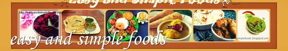Very Good Recipes - easy and simple foods