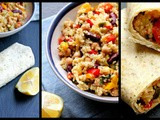 Healthy Quinoa Burritos – Prefect 'On The Go' Lunch