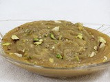 Atte ka halwa / atta halwa / whole wheat flour atta / whole wheat flour pudding