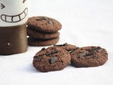 Chocolate cookie / whole wheat flour chocolate cookie