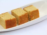 Hot milk cake / whole wheat flour milk cake / sponge cake